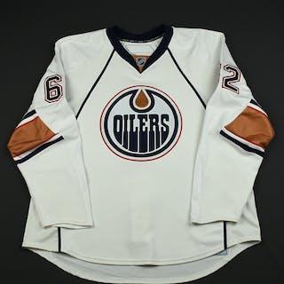 Sestito, Tim White Set 1 GI (RBK 1.0) Edmonton Oilers 2007-08 #62 Size: 58