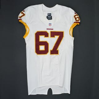 LeRibeus, Josh White Regular Season Washington Redskins 2015 #67 Size: 46 LINE
