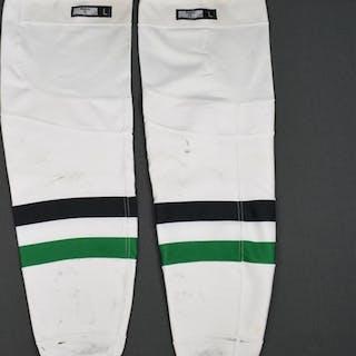 Benn, Jamie White Socks Dallas Stars 2015-16 #14 Size: Large
