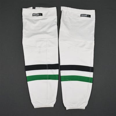 Sharp, Patrick White Socks Dallas Stars 2015-16 #10 Size: XL