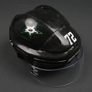 Cole, Erik Black Bauer 7500 Helmet w/Bauer Shield Dallas Stars 2014-15 #72