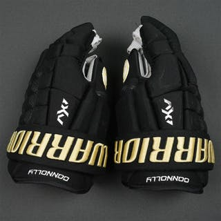 Connolly, Brett Warrior AX1 Pro Gloves, worn in Winter Classic on