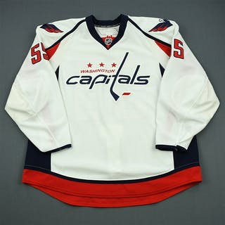 Schultz, Jeff White Set 3 / Playoffs Washington Capitals 2010-11 #55 Size: 58+