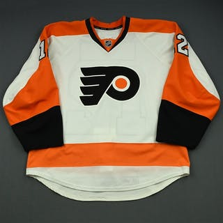 Raffl, Michael White Set 1 Philadelphia Flyers 2014-15 #12 Size: 54