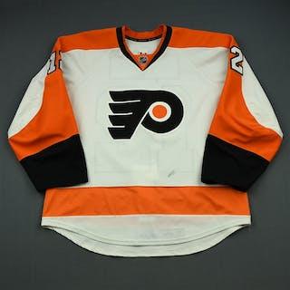 Raffl, Michael White Set 3 Philadelphia Flyers 2014-15 #12 Size: 54