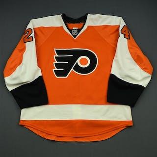 Read, Matt Orange Set 1 Philadelphia Flyers 2014-15 #24 Size: 54