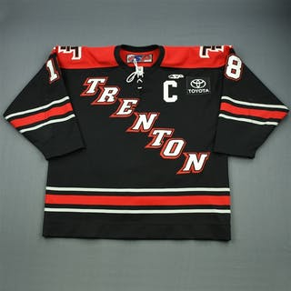 Rowe, Randy Black Set 1 w/C Trenton Titans 2011-12 #18 Size: 56