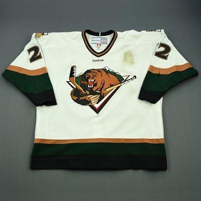 McIlveen, Paul White Set 1 (A removed) Utah Grizzlies 2011-12 #22 Size: 56