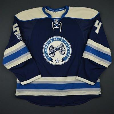Harrington, Scott Third Set 1 w/ NHL Centennial Patch Columbus Blue
