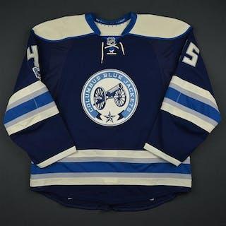 Sedlak, Lukas Third Set 2 w/ NHL Centennial Patch Columbus Blue Jackets