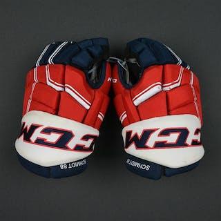 Schmidt, Nate CCM Pro Gloves Washington Capitals 2016-17 Size: 14