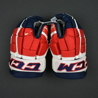 Williams, Justin CCM Pro Gloves Washington Capitals 2016-17 Size: 14