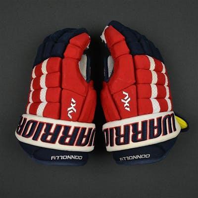 Connolly, Brett Warrior AX1 Gloves Washington Capitals 2016-17 Size: 14