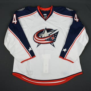 Connauton, Kevin White Set 3 - Game-Issued (GI) Columbus Blue Jackets