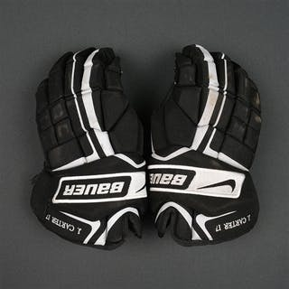 Carter, Jeff * Bauer Vapor X40 Gloves Philadelphia Flyers 2010-11 #17