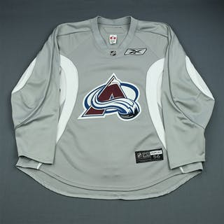 Cumiskey, Kyle Gray Practice Jersey Colorado Avalanche 2009-10 #10 Size: 56