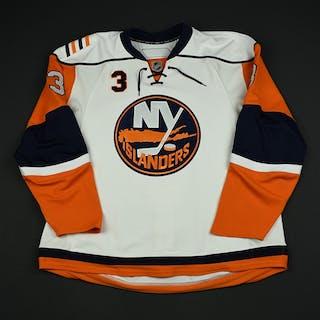 NNOB White Set 1 GI (RBK 1.0) New York Islanders 2007-08 #3 Size: 58