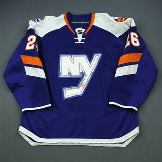 Vanek, Thomas * Blue, Stadium Series Period 2 New York Islanders 2013-14