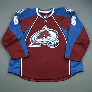 Johnson, Erik Burgundy Set 1 Colorado Avalanche 2012-13 #6 Size: 58+