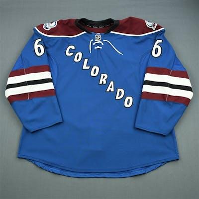 Johnson, Erik Third Set 1 Colorado Avalanche 2012-13 #6 Size: 58+