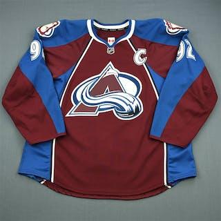11b505024 Landeskog, Gabriel Burgundy Set 1 w/C Colorado Avalanche 2012-13 #92