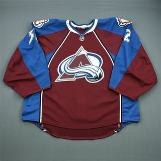 Millan, Kieran Burgundy Set 1 - Game-Issued (GI) Colorado Avalanche