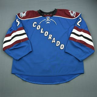 Millan, Kieran Third Set 1 - Game-Issued (GI) Colorado Avalanche 2012-13