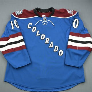Pock, Thomas Third Set 1 - Game-Issued (GI) Colorado Avalanche 2012-13