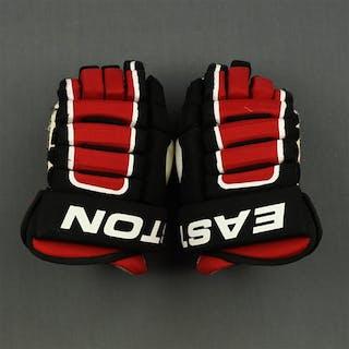 Pelley, Rod Easton Gloves New Jersey Devils 2009-12 #