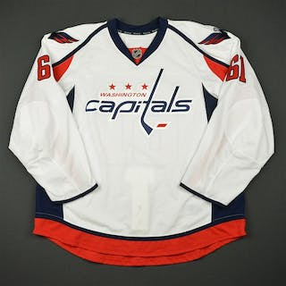DeSalvo, Dan White Set 1 - Game-Issued (GI) Washington Capitals 2016-17