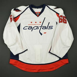Gazley, Dustin White Set 1 - Game-Issued (GI) Washington Capitals