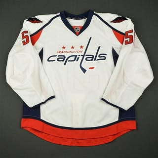 Labrie, Hubert White Set 1 - Game-Issued (GI) Washington Capitals
