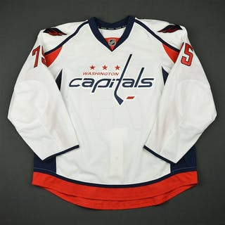 McGauley, Tim White Set 1 - Game-Issued (GI) Washington Capitals 2016-17