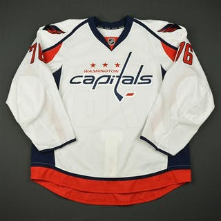 Mitchell, Garrett White Set 1 - Game-Issued (GI) Washington Capitals