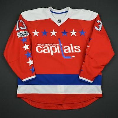 size 40 ca6f2 5cffb Vrana, Jakub Third Set 2 w/ NHL Centennial Patch Washington ...