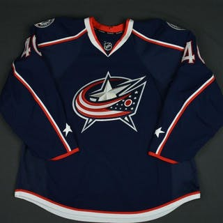 Boll, Jared Blue Set 2 Columbus Blue Jackets 2015-16 #40 Size: 56
