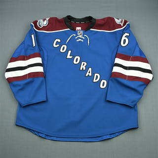 Walker, Geoff Third Set 1 - Game-Issued (GI) Colorado Avalanche 2012-13