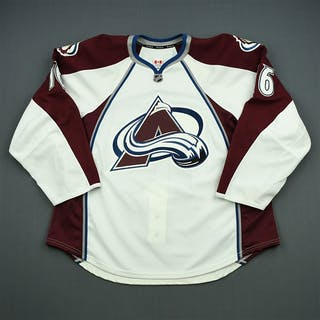 Walker, Geoff White Set 1 - Game-Issued (GI) Colorado Avalanche 2012-13