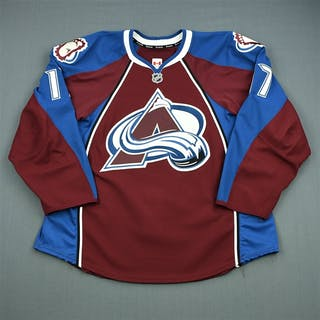 Palushaj, Aaron Burgundy Set 1 Colorado Avalanche 2012-13 #17 Size: 56