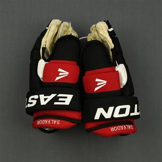 Salvador, Bryce Easton Gloves New Jersey Devils 2008-13