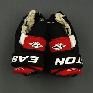 Tallinder, Henrik Easton Gloves New Jersey Devils 2010-13