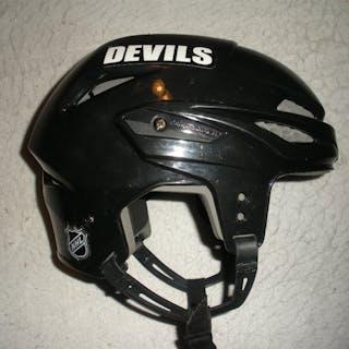 Pelley, Rod Black Easton Helmet New Jersey Devils 2009-11 #10