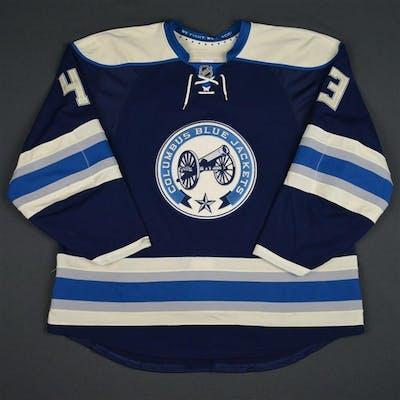 Hartnell, Scott Third Set 2 Columbus Blue Jackets 2015-16 #43 Size: 56