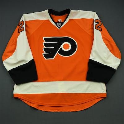 Schenn, Luke Orange Set 1 Philadelphia Flyers 2014-15 #22 Size: 58