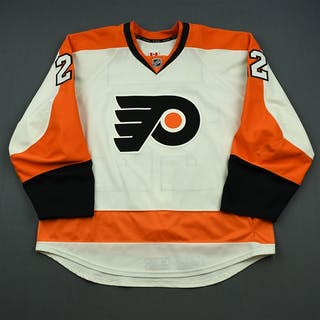 Schenn, Luke White Set 1 Philadelphia Flyers 2014-15 #22 Size: 58