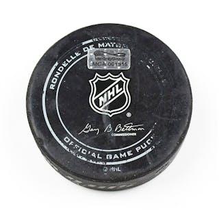 Nashville Predators November 12, 2015 vs. Toronto Maple Leafs (Predators