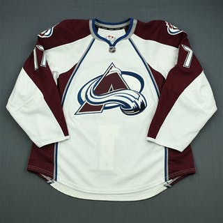 Palushaj, Aaron White Set 2 Colorado Avalanche 2012-13 #7 Size: 56