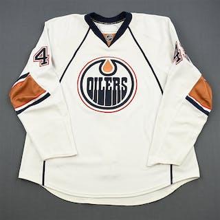 Strudwick, Jason White Set 1 Edmonton Oilers 2010-11 #43 Size: 58+