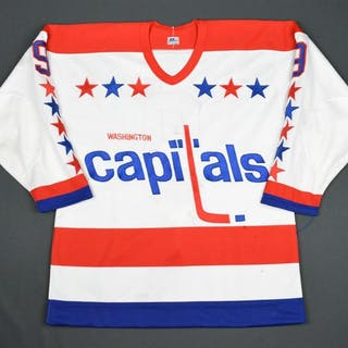 Engblom, Brian * White Washington Capitals 1982-83 #9 Size: 50