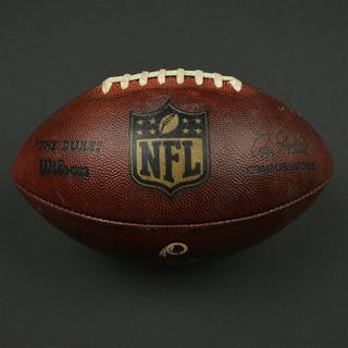 Game-Used Football Game-Used Football from December 24, 2016 vs. Chicago